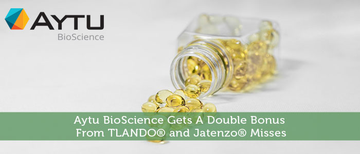 Aytu BioScience Gets A Double Bonus From TLANDO® and Jatenzo® Misses