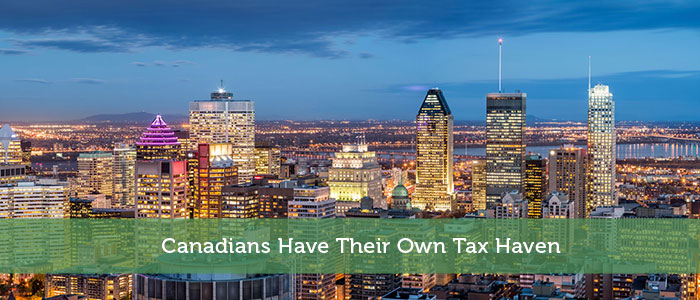 Canadians Have Their Own Tax Haven