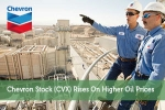 Chevron Stock (CVX) Rises On Higher Oil Prices
