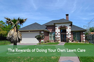 The Rewards of Doing Your Own Lawn Care