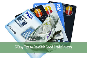 Jon Dulin-by-3 Easy Tips to Establish Good Credit History