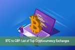 BTC to GBP: List of Top Cryptocurrency Exchanges
