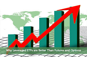 Why Leveraged ETFs are Better Than Futures and Options