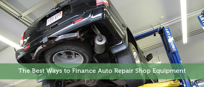 The Best Ways to Finance Auto Repair Shop Equipment