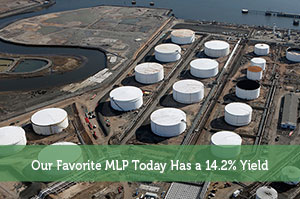 Our Favorite MLP Today Has a 14.2% Yield