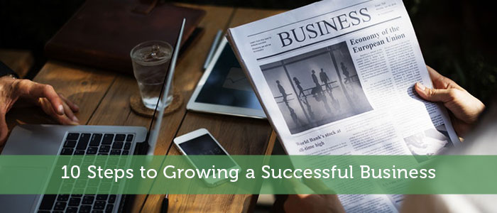 10 Steps to Growing a Successful Business