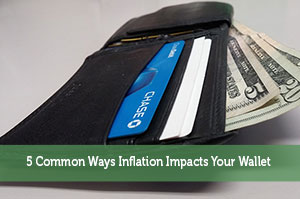 5 Common Ways Inflation Impacts Your Wallet
