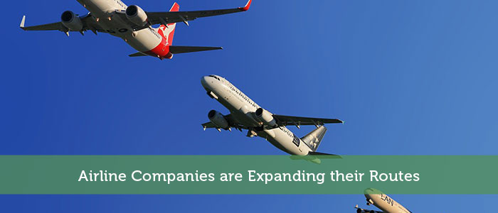 Airline Companies are Expanding their Routes