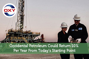 Occidental Petroleum Could Return 10% Per Year From Today's Starting Point