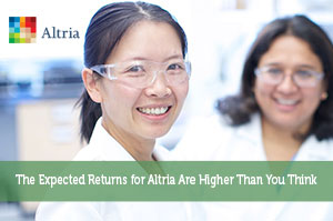 The Expected Returns for Altria Are Higher Than You Think