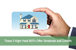Sure Dividend-by-These 3 High-Yield REITs Offer Dividends and Growth