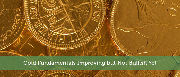 Gold Fundamentals Improving but Not Bullish Yet