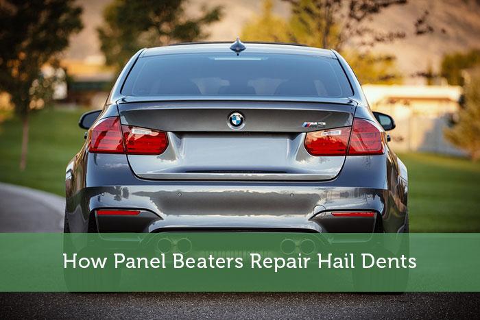 How Panel Beaters Repair Hail Dents