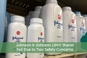 Jeremy Biberdorf-by-Johnson & Johnson (JNJ) Shares Fall Due to Talc Safety Concerns