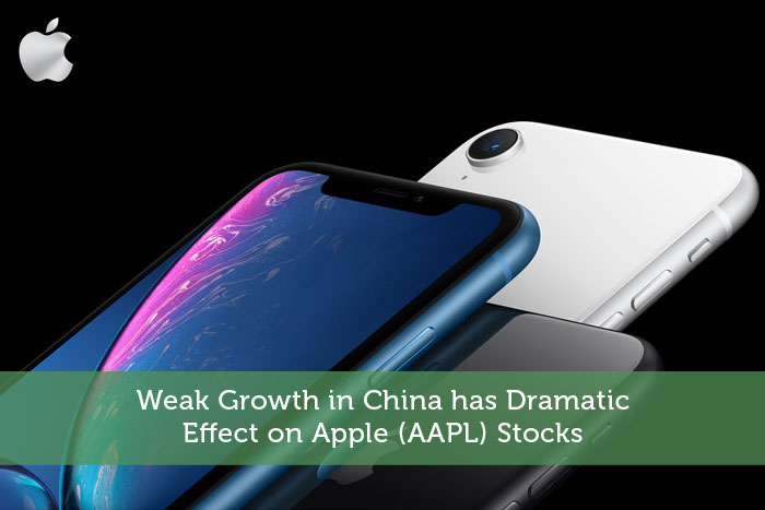 Weak Growth in China has Dramatic Effect on Apple (AAPL) Stocks