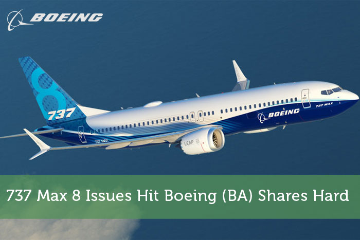 737 Max 8 Issues Hit Boeing (BA) Shares Hard