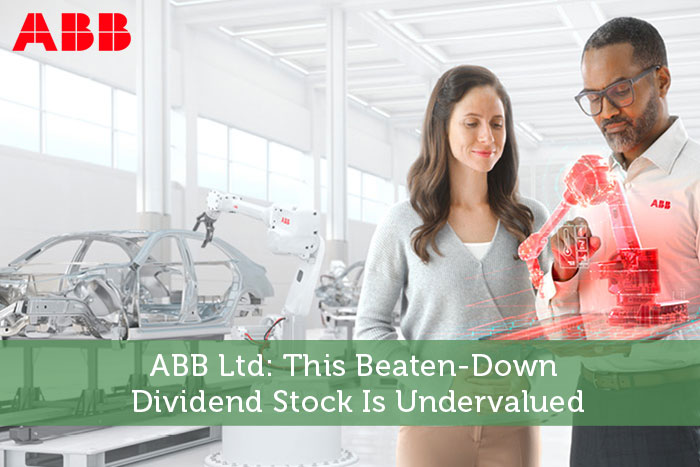 ABB Ltd: This Beaten-Down Dividend Stock Is Undervalued