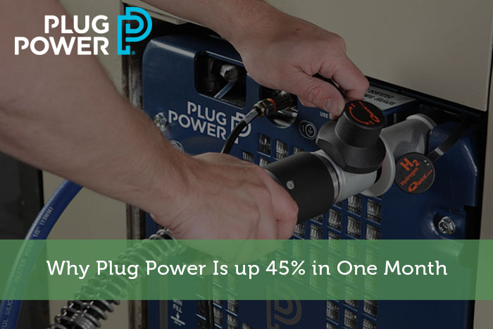 Why Plug Power Is up 45% in One Month