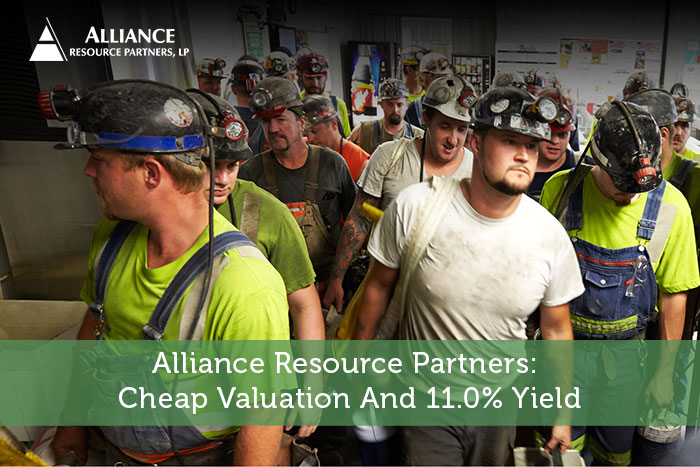 Alliance Resource Partners: Cheap Valuation And 11.0% Yield