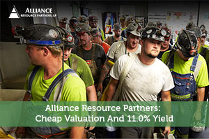 Sure Dividend-by-Alliance Resource Partners: Cheap Valuation And 11.0% Yield