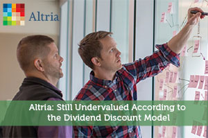 Sure Dividend-by-Altria: Still Undervalued According to the Dividend Discount Model