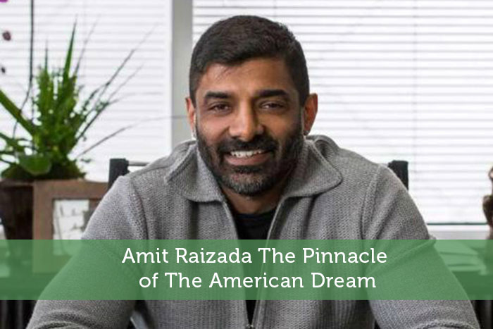 Amit Raizada The Pinnacle of The American Dream
