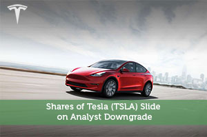 Kevin-by-Shares of Tesla (TSLA) Slide on Analyst Downgrade