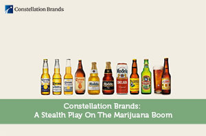 Sure Dividend-by-Constellation Brands: A Stealth Play On The Marijuana Boom
