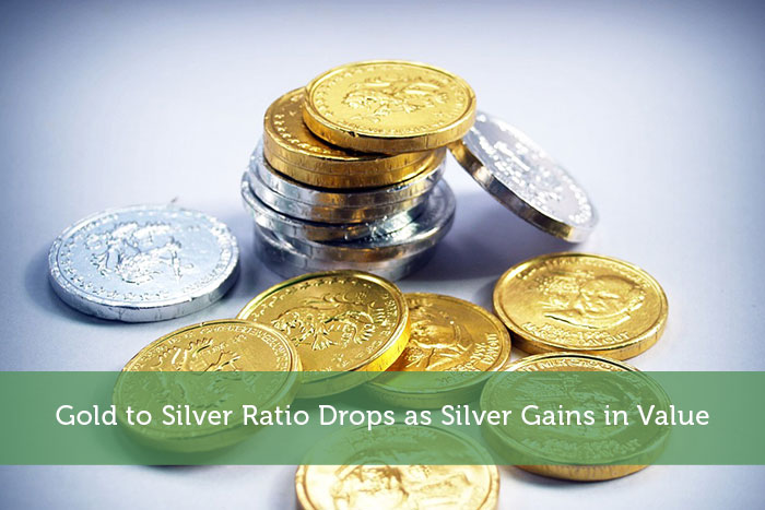Gold to Silver Ratio Drops as Silver Gains in Value