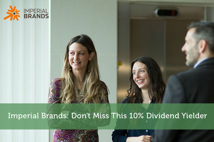 Imperial Brands: Don't Miss This 10% Dividend Yielder