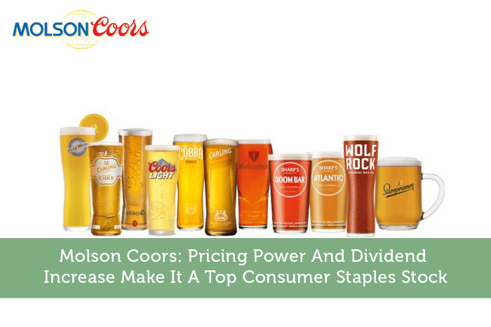 Molson Coors: Pricing Power And Dividend Increase Make It A Top Consumer Staples Stock | Modest Money