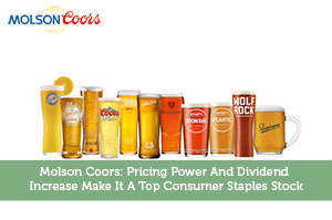 Sure Dividend-by-Molson Coors: Pricing Power And Dividend Increase Make It A Top Consumer Staples Stock