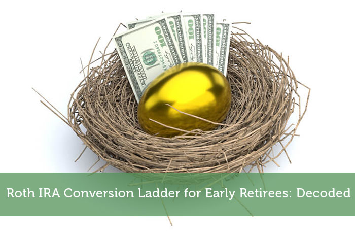 Roth IRA Conversion Ladder for Early Retirees: Decoded