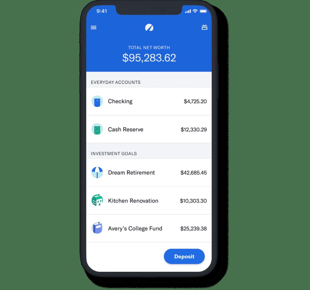 Betterment Mobile App