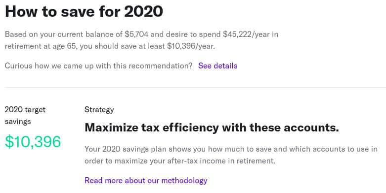 Betterment Savings Plan
