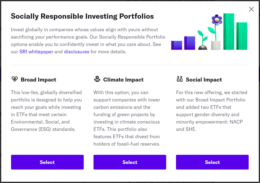 Socially Responsible Portfolios