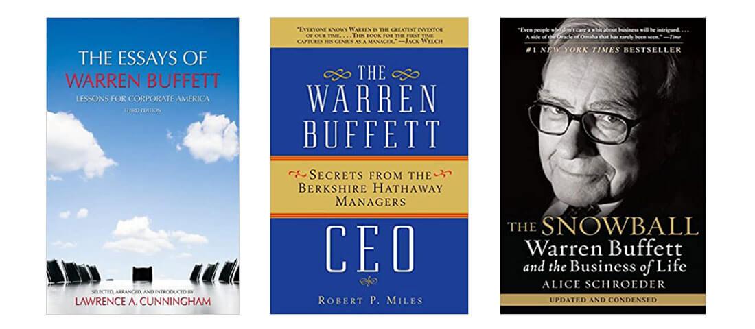 The Best Three Books About Warren Buffett