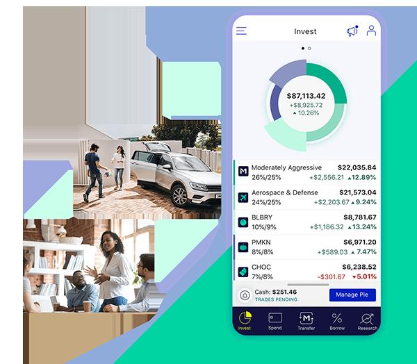 M1 Finance Product Screenshot